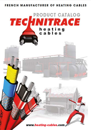 Technitrace general catalogue of heating cables and their accessories.