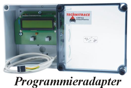 System zur Temperarurregelung Novatrace